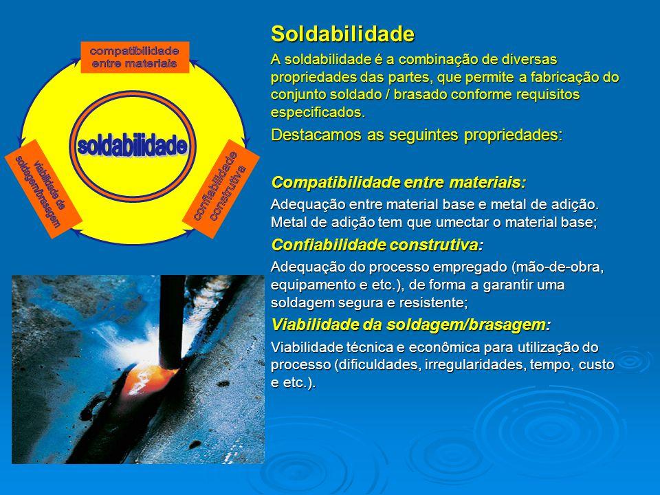 compatibilidade entre materiais soldagem/brasagem confiabilidade