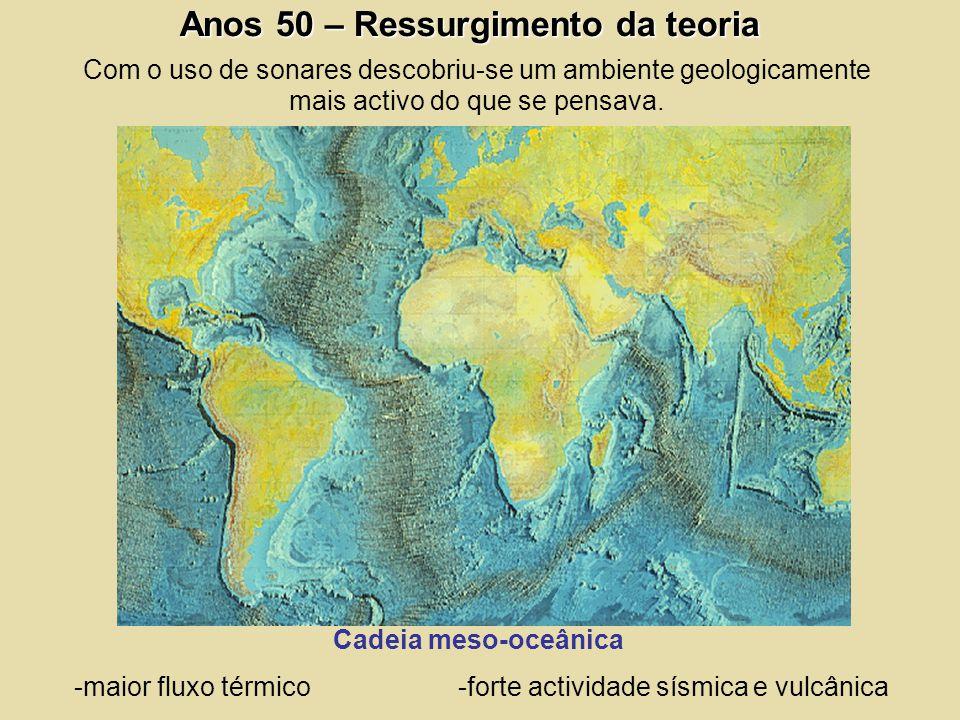 -maior fluxo térmico -forte actividade sísmica e vulcânica