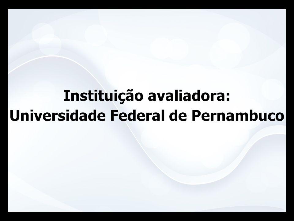Instituição avaliadora: Universidade Federal de Pernambuco