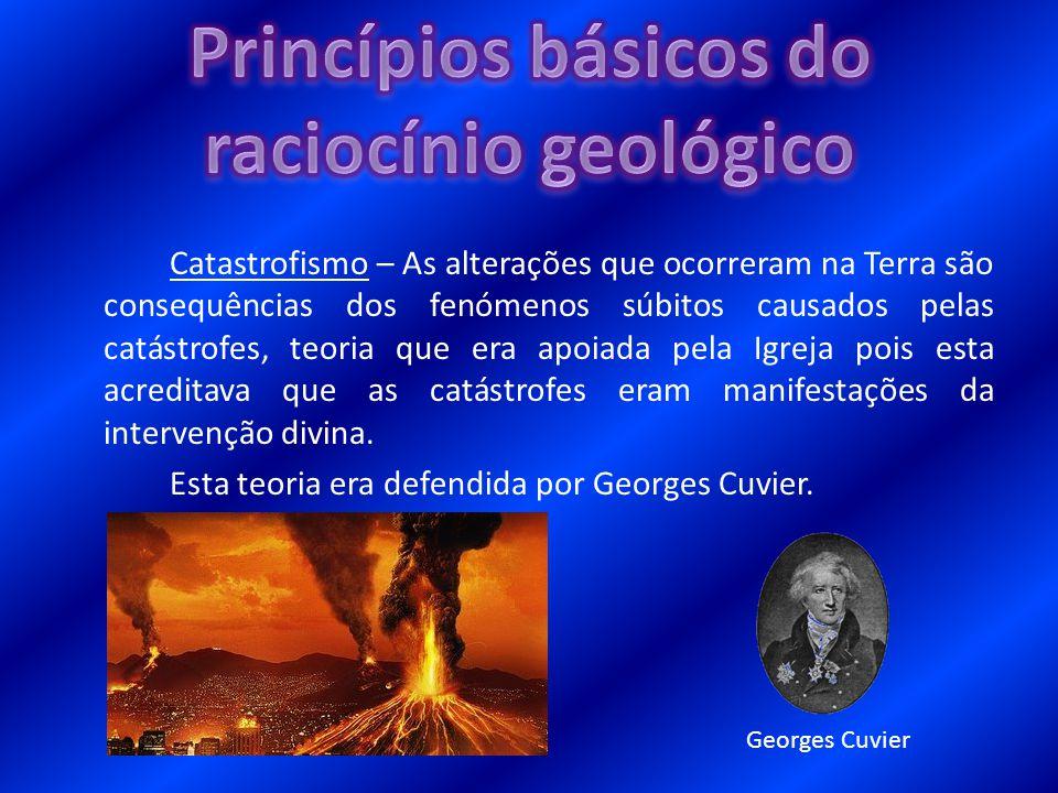 Princípios básicos do raciocínio geológico