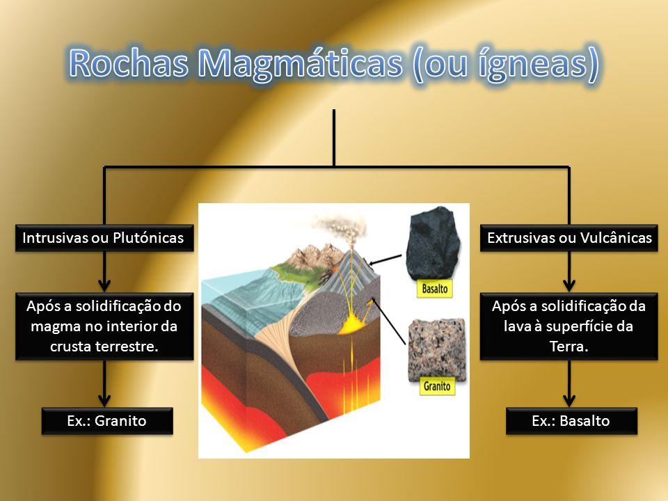 Rochas Magmáticas (ou ígneas)