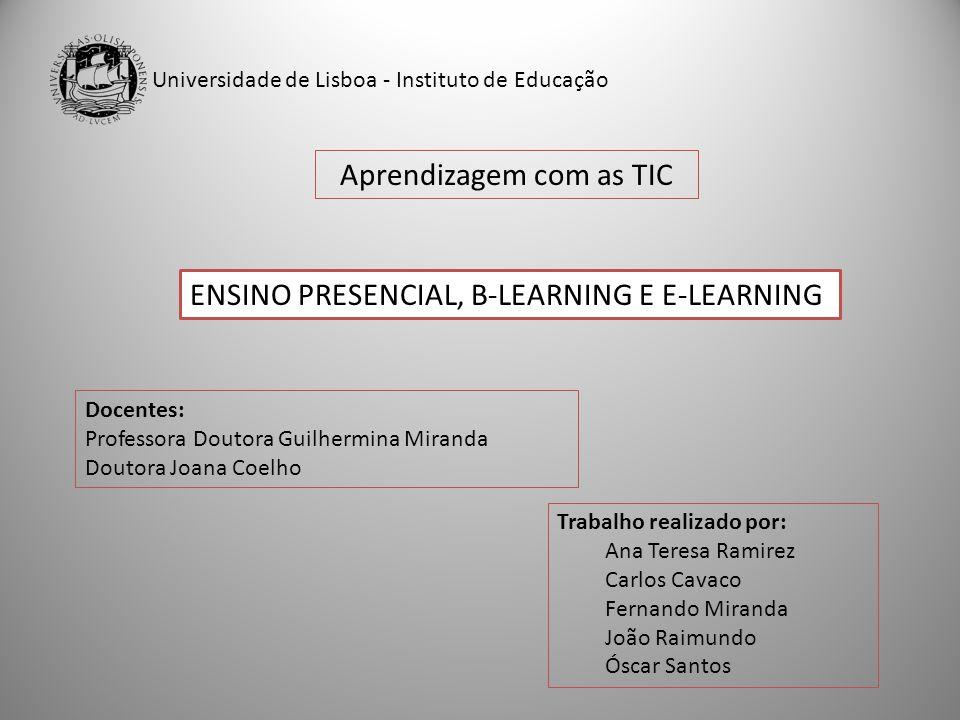 Aprendizagem com as TIC
