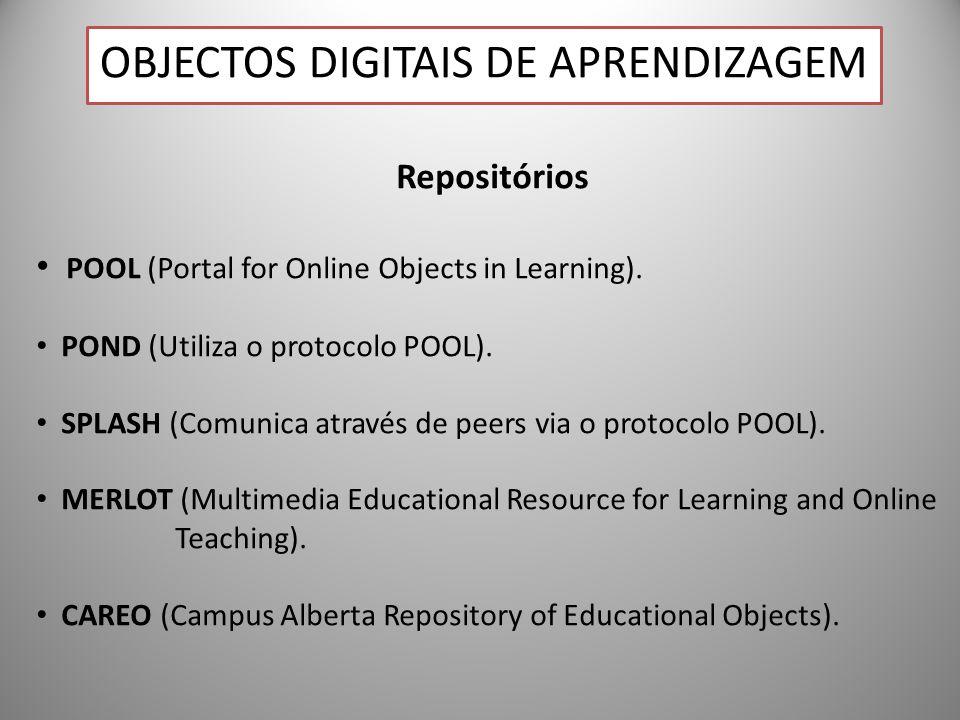 Objectos Digitais de Aprendizagem
