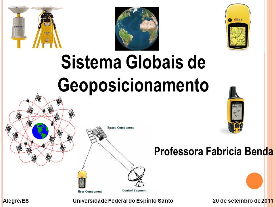 Sistema Globais de Geoposicionamento