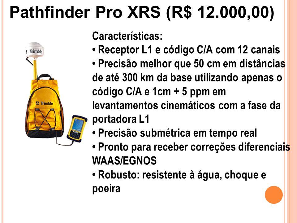 Pathfinder Pro XRS (R$ 12.000,00)