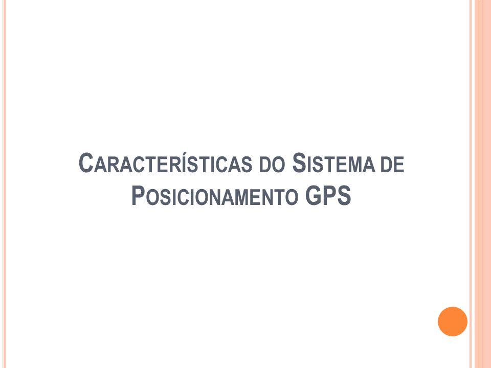 Características do Sistema de Posicionamento GPS