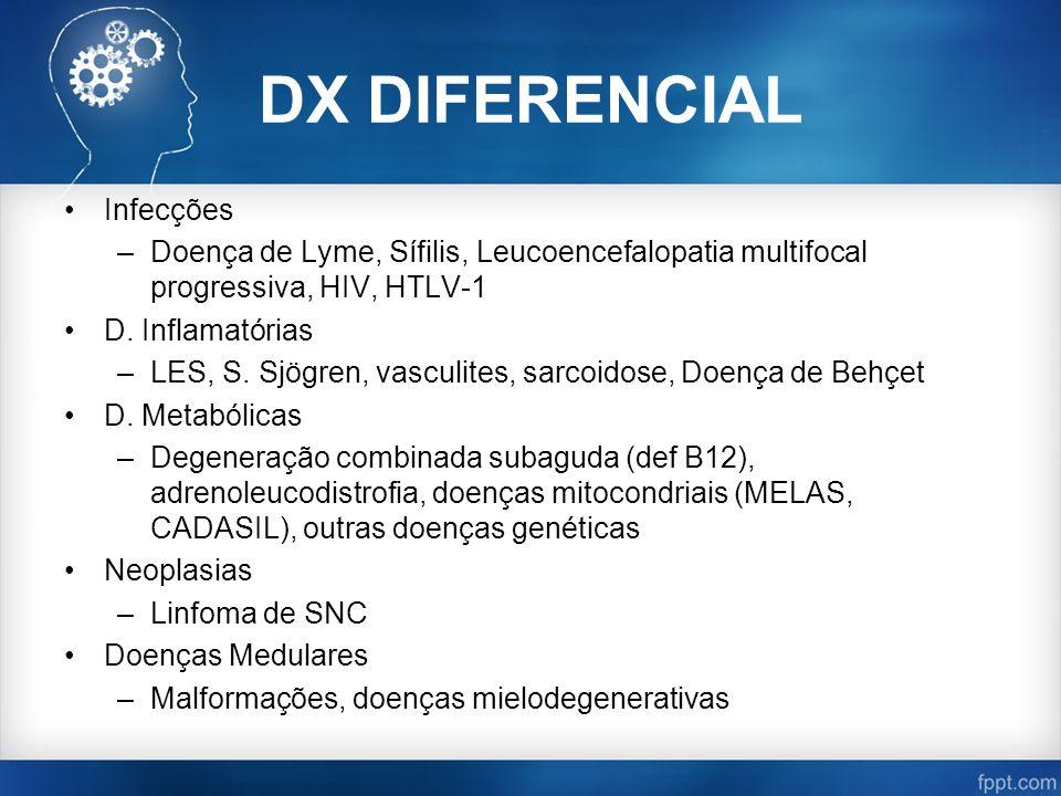 DX DIFERENCIAL Infecções
