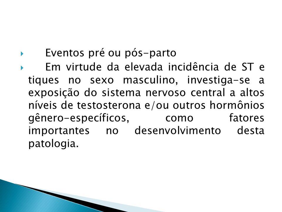 Eventos pré ou pós-parto