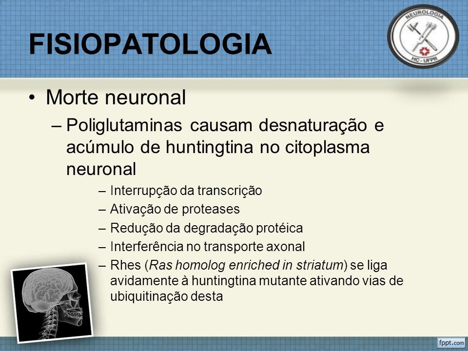 FISIOPATOLOGIA Morte neuronal