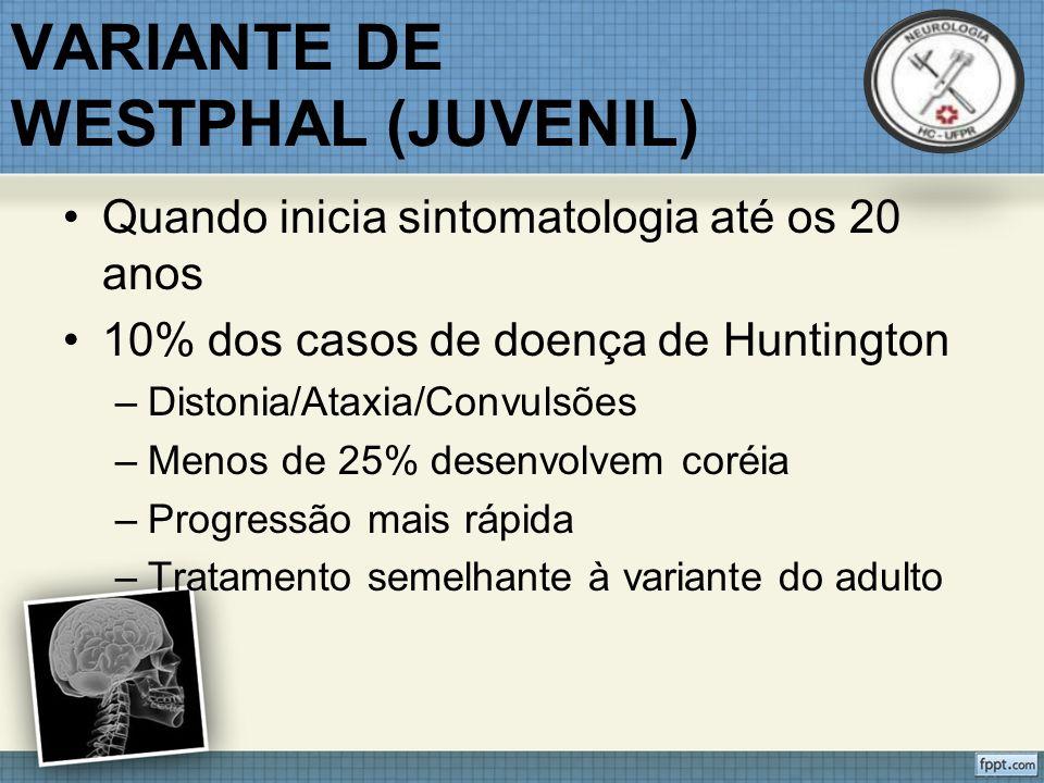 VARIANTE DE WESTPHAL (JUVENIL)