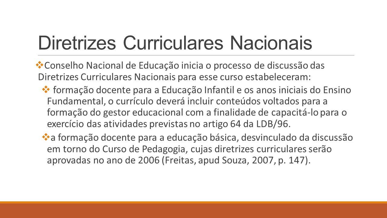 Diretrizes Curriculares Nacionais