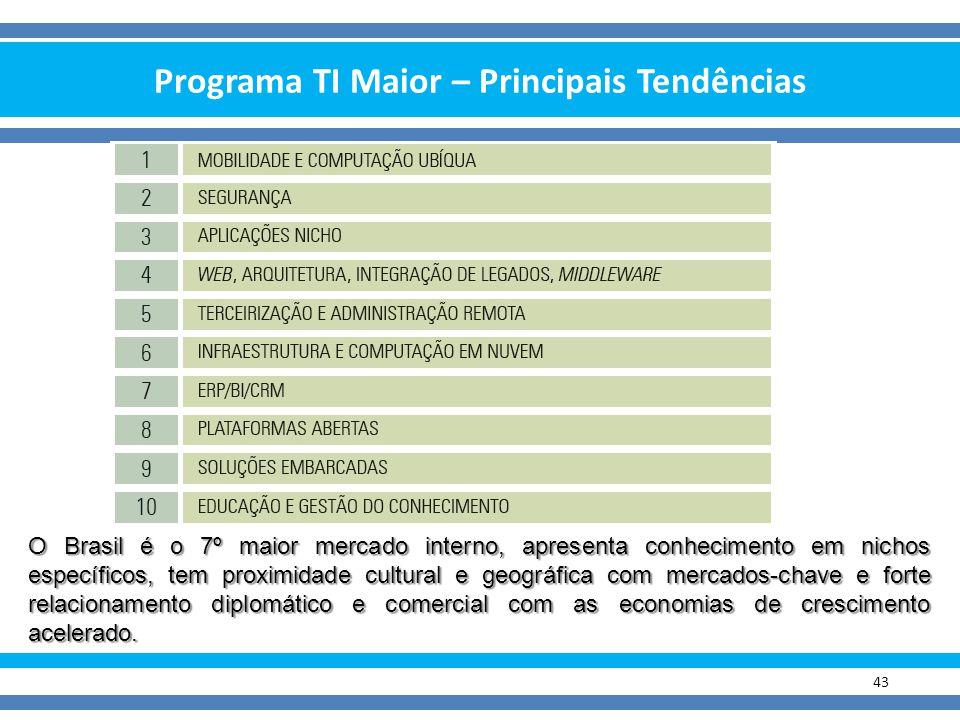 Programa TI Maior – Principais Tendências