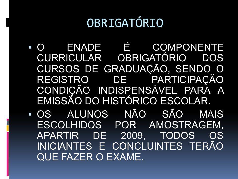 OBRIGATÓRIO