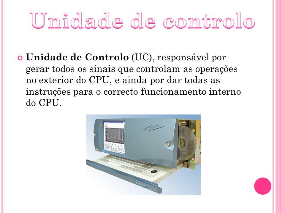Unidade de controlo