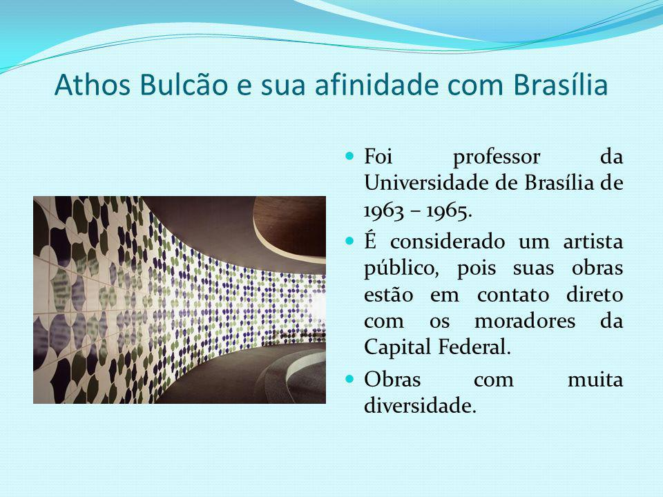 Athos Bulcão e sua afinidade com Brasília