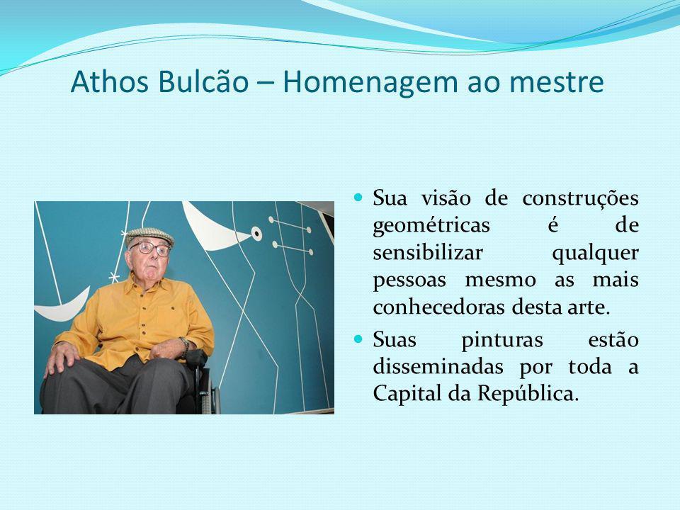 Athos Bulcão – Homenagem ao mestre