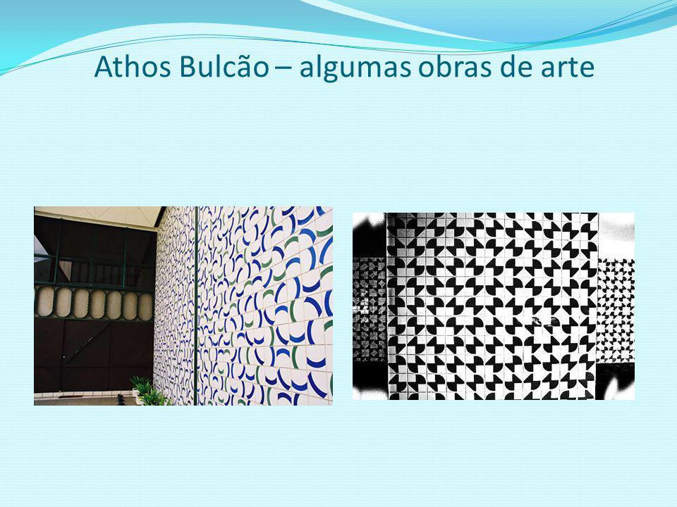Athos Bulcão – algumas obras de arte
