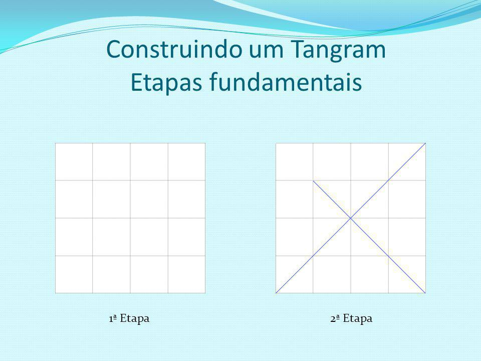 Construindo um Tangram Etapas fundamentais