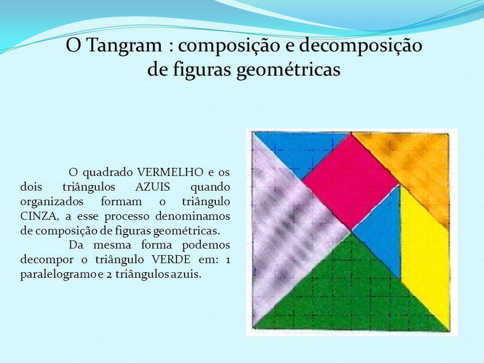 O Tangram : composição e decomposição de figuras geométricas