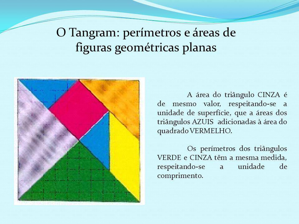O Tangram: perímetros e áreas de figuras geométricas planas