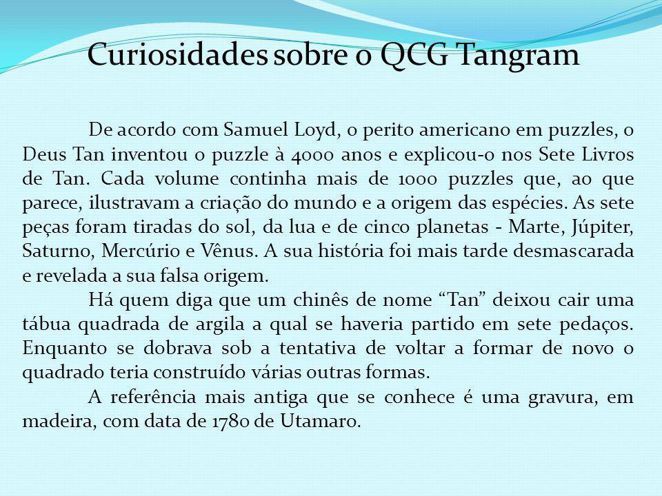 Curiosidades sobre o QCG Tangram