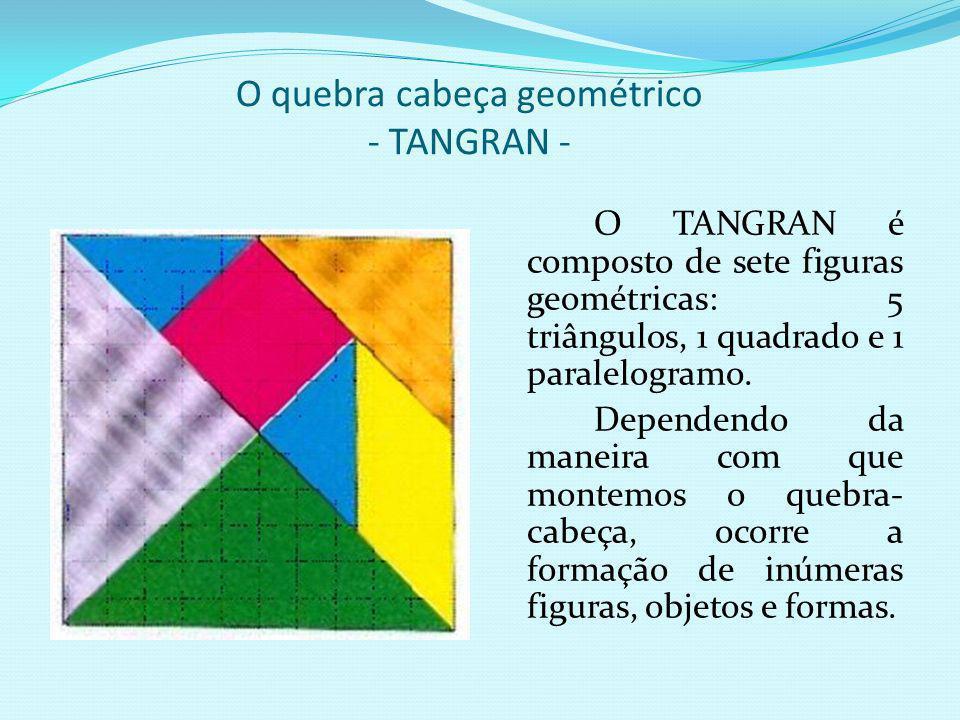 O quebra cabeça geométrico - TANGRAN -