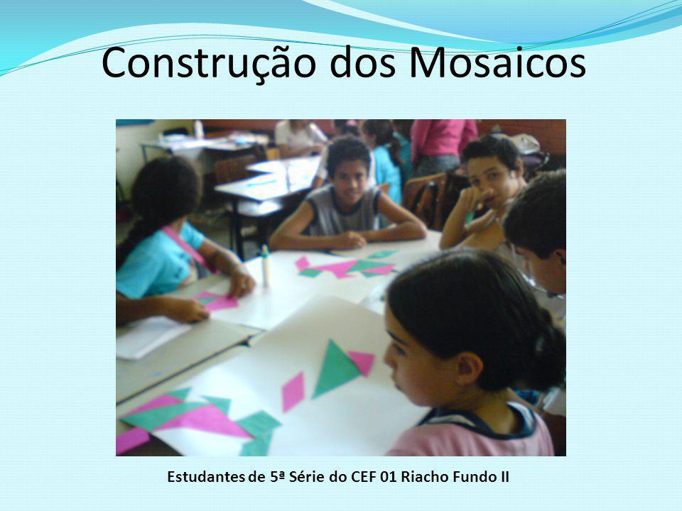 Construção dos Mosaicos