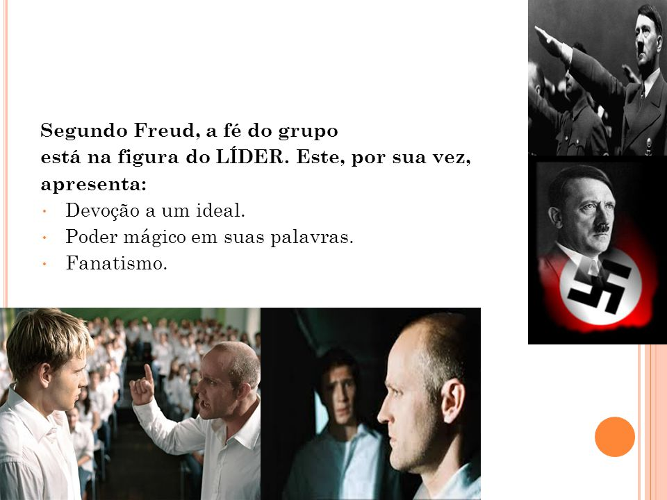 Segundo Freud, a fé do grupo