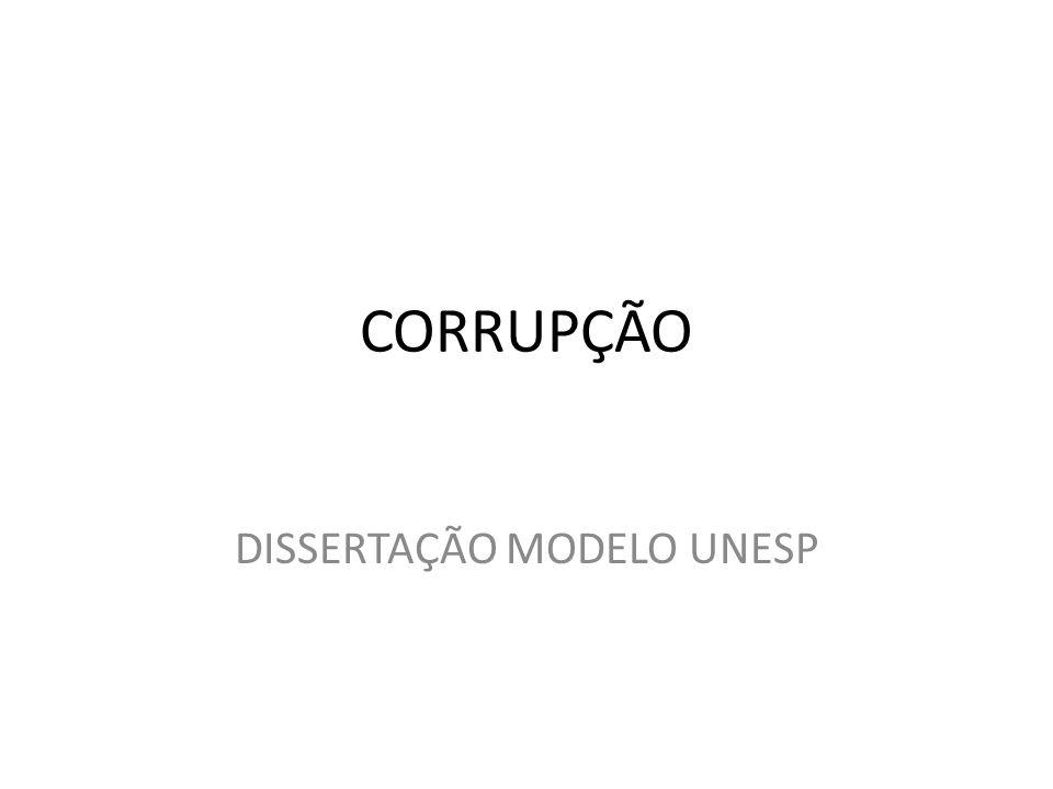 DISSERTAÇÃO MODELO UNESP