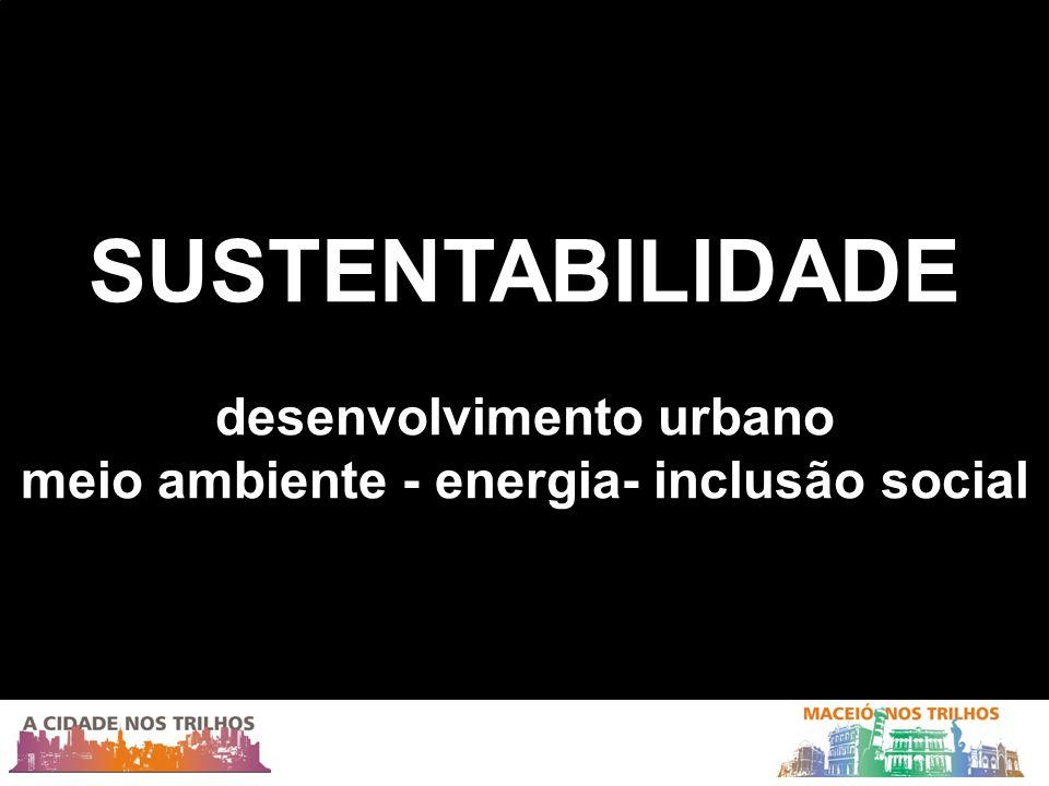 desenvolvimento urbano meio ambiente - energia- inclusão social