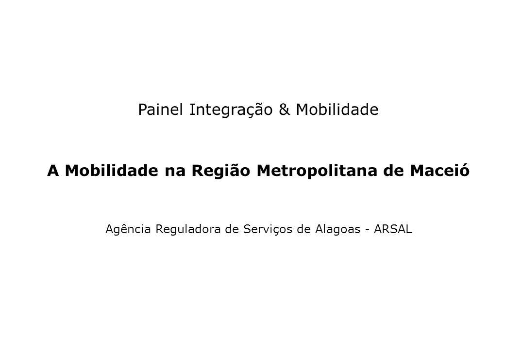 A Mobilidade na Região Metropolitana de Maceió