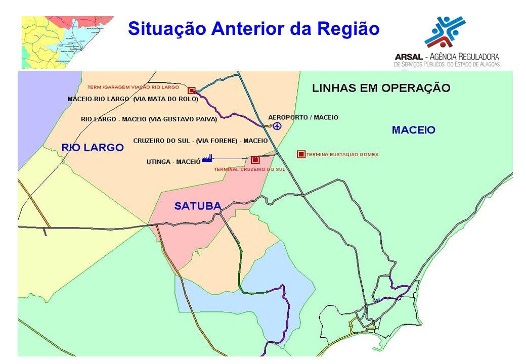 Situação Anterior da Região