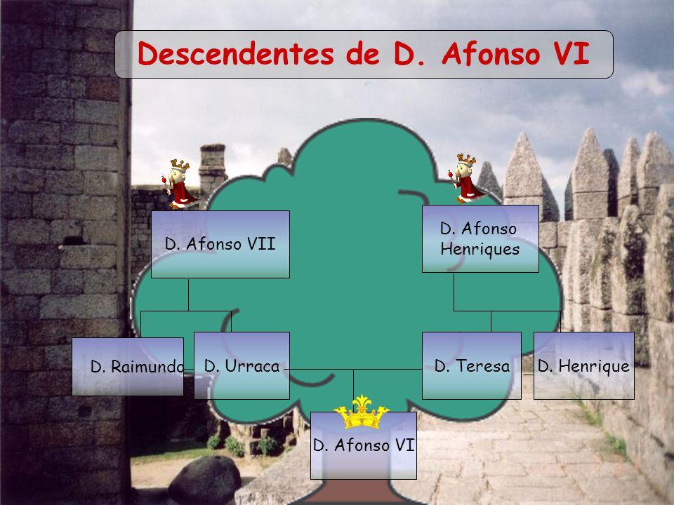 Descendentes de D. Afonso VI