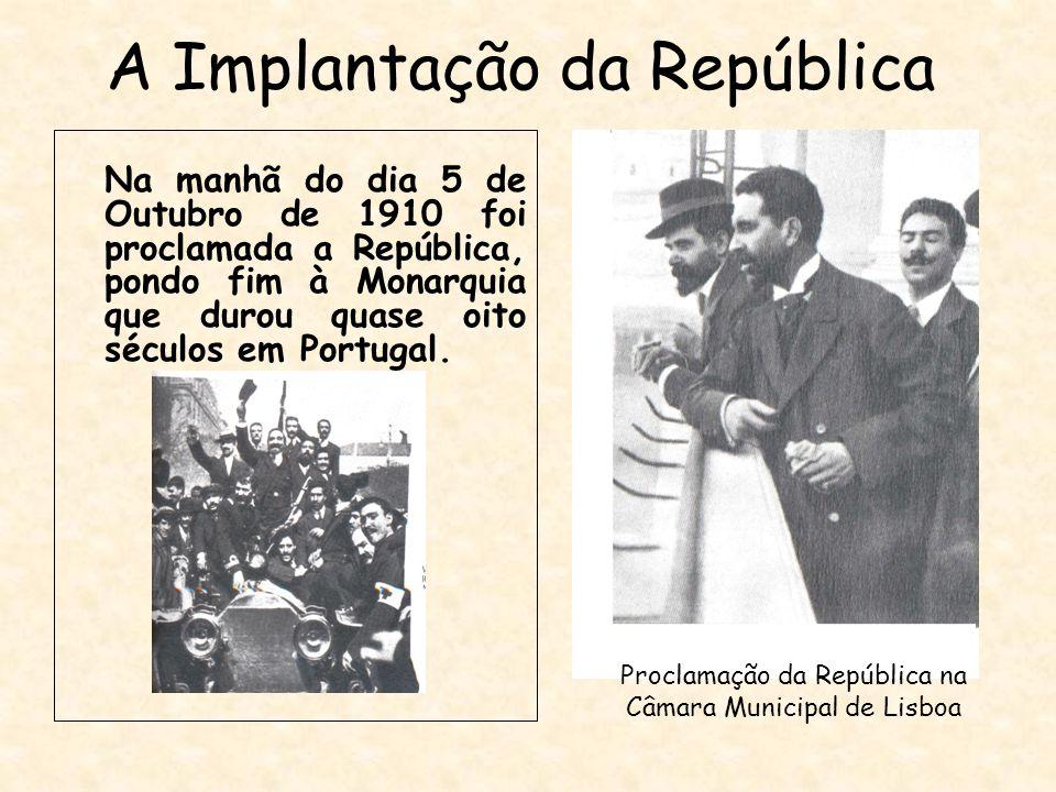 A Implantação da República