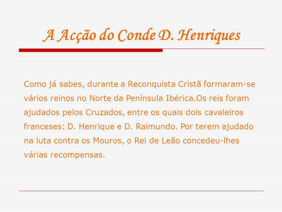 A Acção do Conde D. Henriques