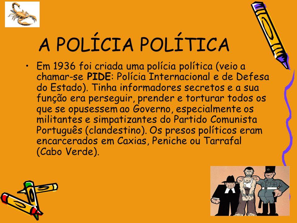 A POLÍCIA POLÍTICA