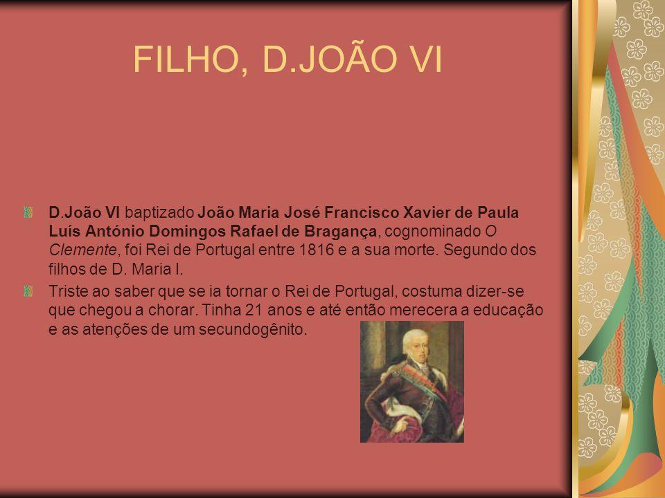 FILHO, D.JOÃO VI