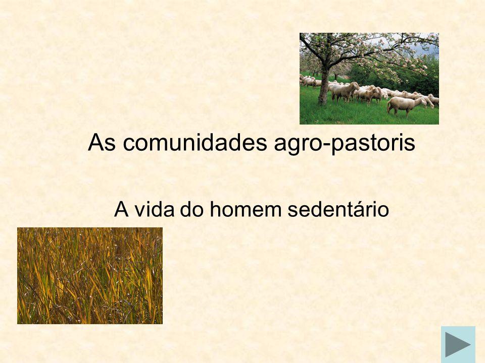 As comunidades agro-pastoris