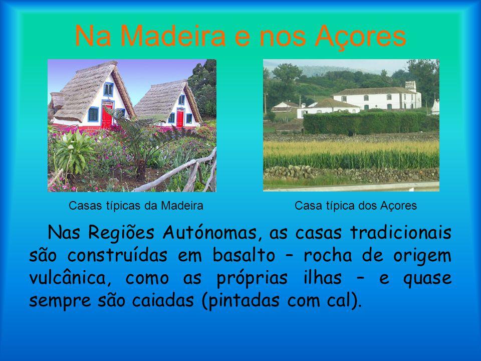 Casas típicas da Madeira