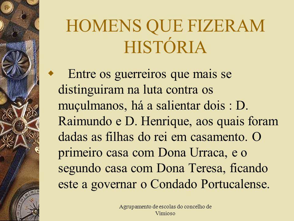 HOMENS QUE FIZERAM HISTÓRIA