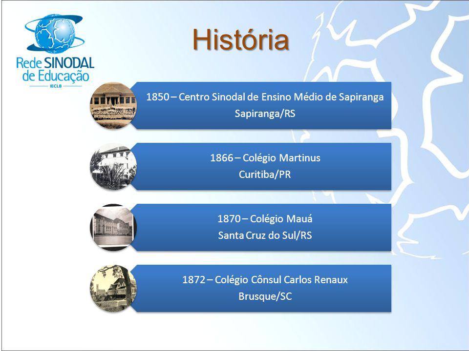 História 1850 – Centro Sinodal de Ensino Médio de Sapiranga