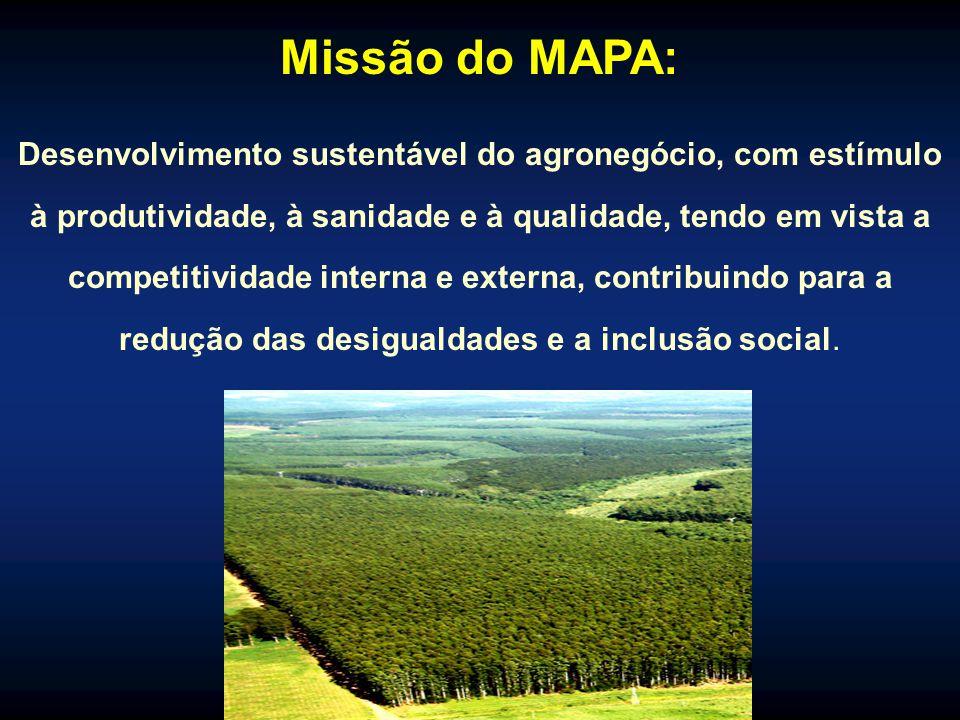 Missão do MAPA:
