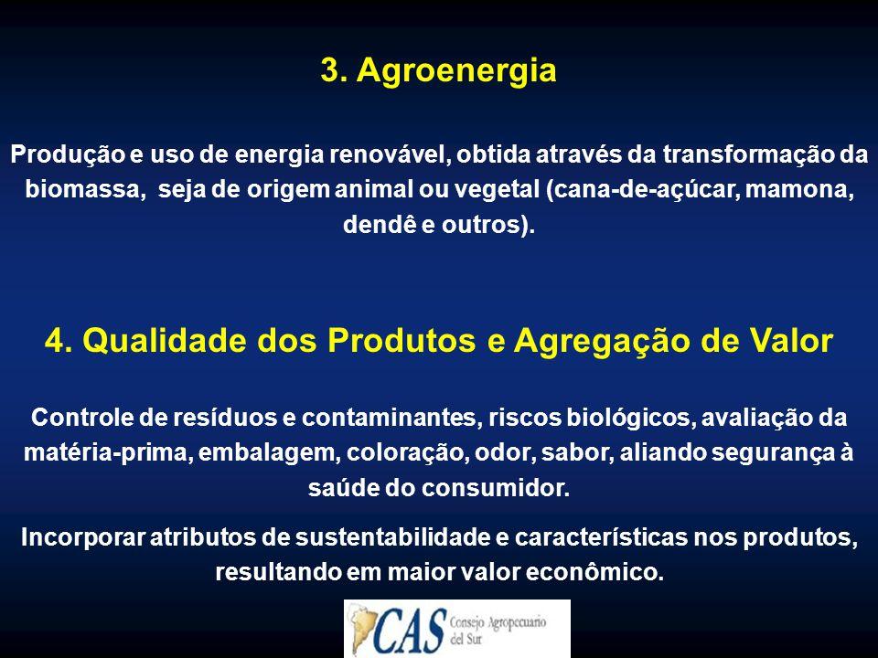 4. Qualidade dos Produtos e Agregação de Valor