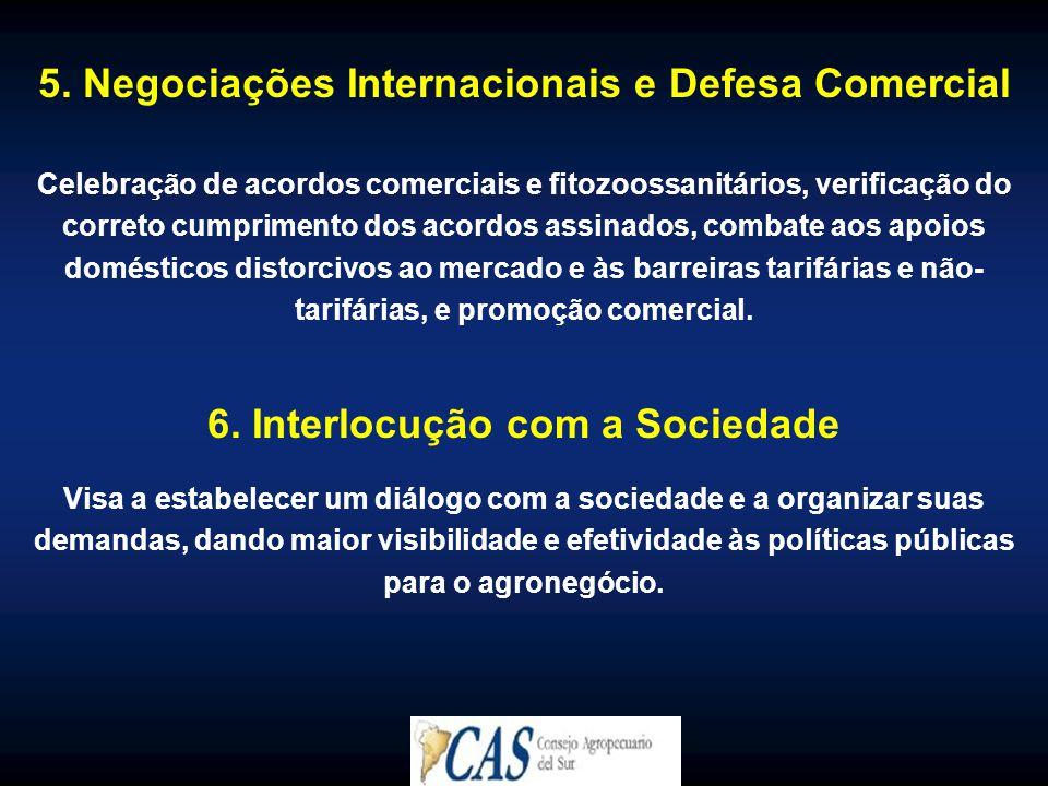 5. Negociações Internacionais e Defesa Comercial