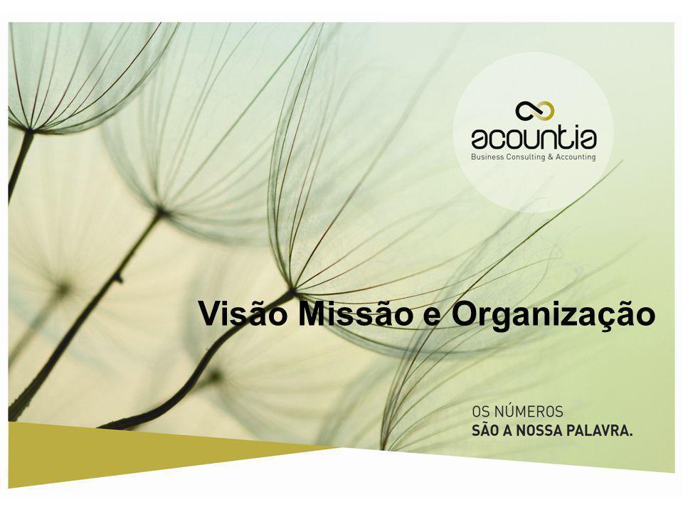 Visão Missão e Organização