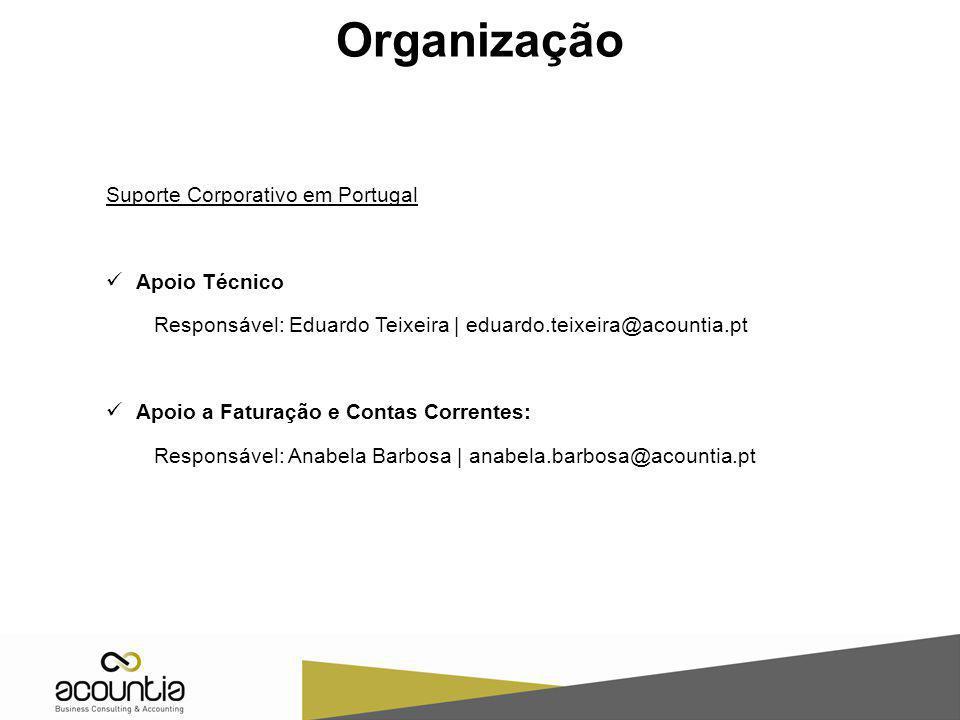 Organização Suporte Corporativo em Portugal Apoio Técnico