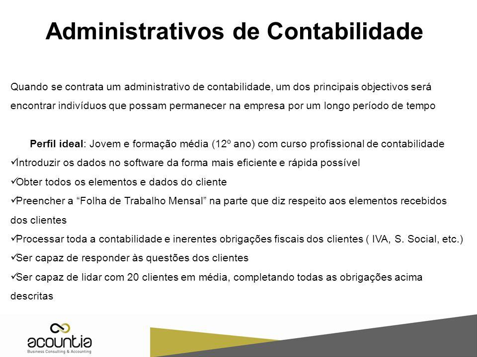 Administrativos de Contabilidade