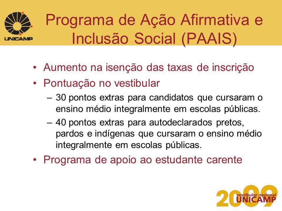 Programa de Ação Afirmativa e Inclusão Social (PAAIS)