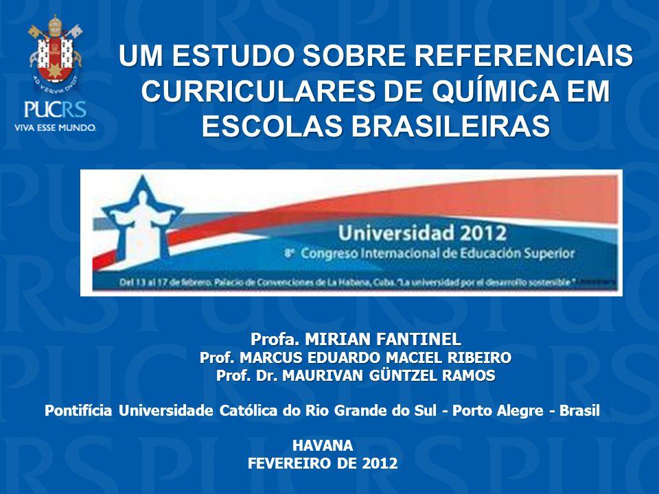 Prof. MARCUS EDUARDO MACIEL RIBEIRO Prof. Dr. MAURIVAN GÜNTZEL RAMOS