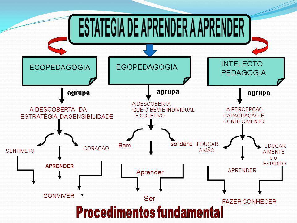 ESTATEGIA DE APRENDER A APRENDER Procedimentos fundamental